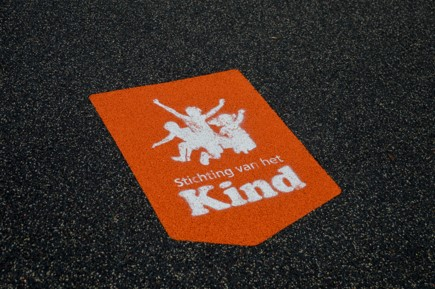 Dutchpanna vloer met logo