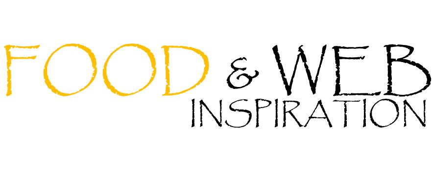 food & web inspiration logo - kleur + zwart